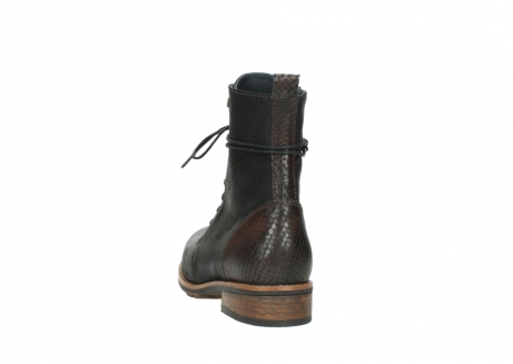 wolky mid calf boots 04432 murray 50300 dark brown olied leather_6