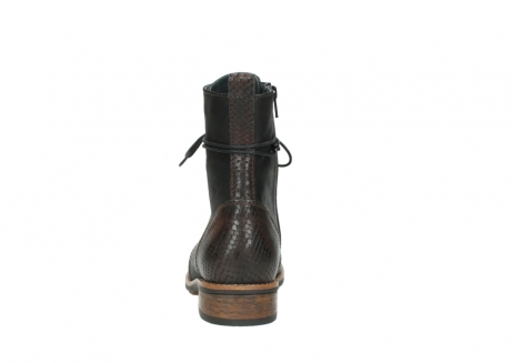wolky mid calf boots 04432 murray 50300 dark brown olied leather_7