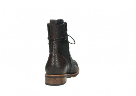 wolky mid calf boots 04432 murray 50300 dark brown olied leather_8