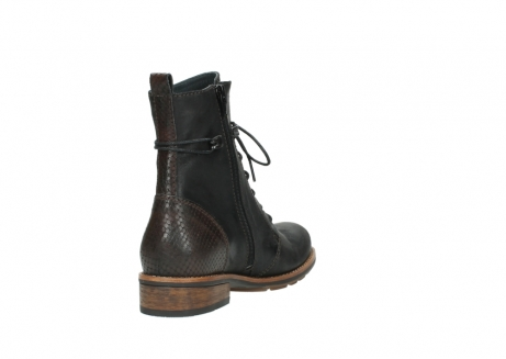 wolky mid calf boots 04432 murray 50300 dark brown olied leather_9