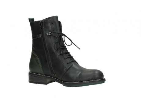 wolky mid calf boots 04432 murray 50730 forest green oiled leather_15