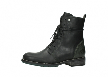 wolky mid calf boots 04432 murray 50730 forest green oiled leather_24