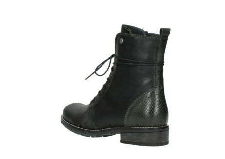 wolky mid calf boots 04432 murray 50730 forest green oiled leather_4