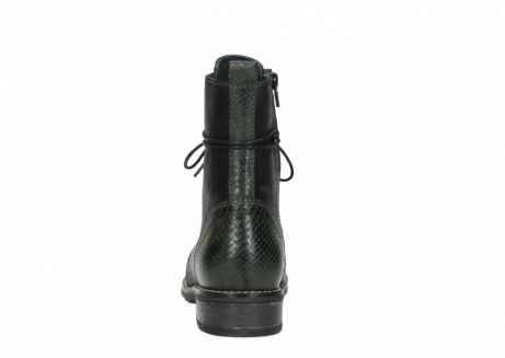 wolky mid calf boots 04432 murray 50730 forest green oiled leather_7