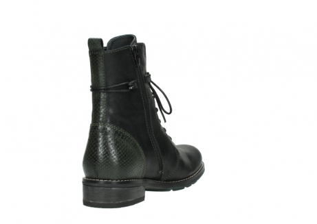 wolky mid calf boots 04432 murray 50730 forest green oiled leather_9