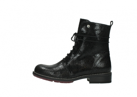 wolky mid calf boots 04432 murray 90000 black craquele leather_1