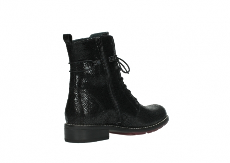 wolky mid calf boots 04432 murray 90000 black craquele leather_10