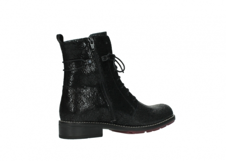 wolky mid calf boots 04432 murray 90000 black craquele leather_11