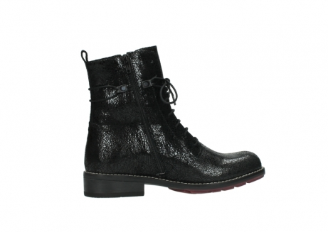 wolky mid calf boots 04432 murray 90000 black craquele leather_12