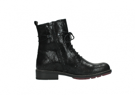 wolky mid calf boots 04432 murray 90000 black craquele leather_13