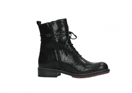 wolky mid calf boots 04432 murray 90000 black craquele leather_14