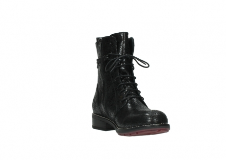 wolky mid calf boots 04432 murray 90000 black craquele leather_17