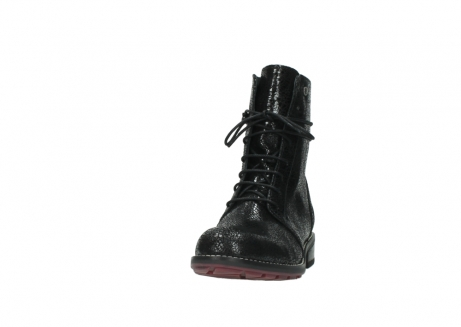 wolky mid calf boots 04432 murray 90000 black craquele leather_20