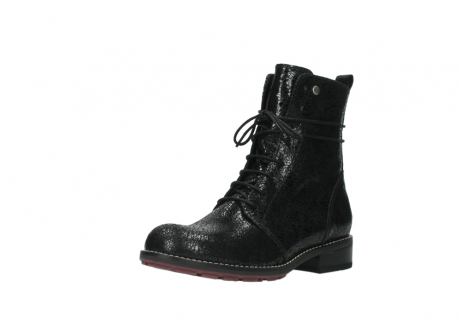 wolky mid calf boots 04432 murray 90000 black craquele leather_22