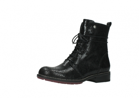 wolky mid calf boots 04432 murray 90000 black craquele leather_23