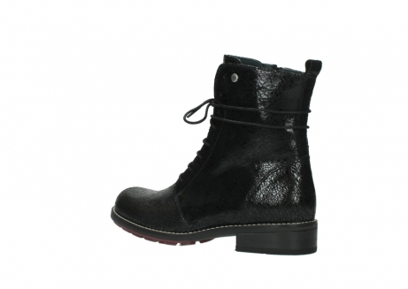 wolky mid calf boots 04432 murray 90000 black craquele leather_3