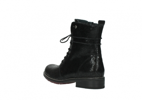 wolky mid calf boots 04432 murray 90000 black craquele leather_4