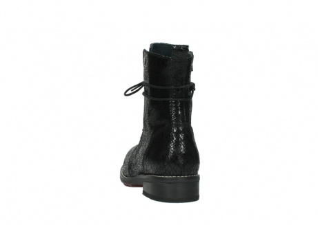 wolky mid calf boots 04432 murray 90000 black craquele leather_6