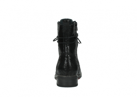 wolky mid calf boots 04432 murray 90000 black craquele leather_7