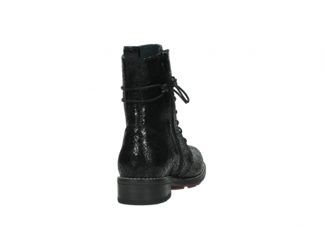 wolky mid calf boots 04432 murray 90000 black craquele leather_8
