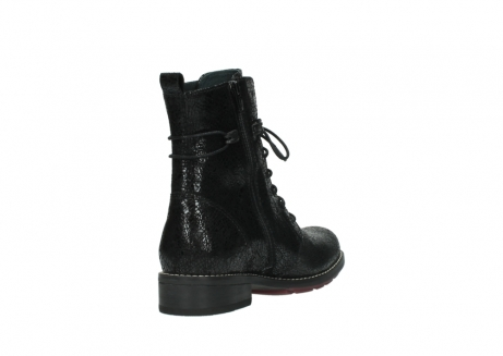 wolky mid calf boots 04432 murray 90000 black craquele leather_9