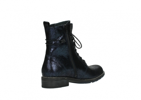 wolky mid calf boots 04432 murray 90800 dark blue craquele leather_10