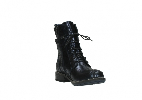 wolky mid calf boots 04432 murray 90800 dark blue craquele leather_17