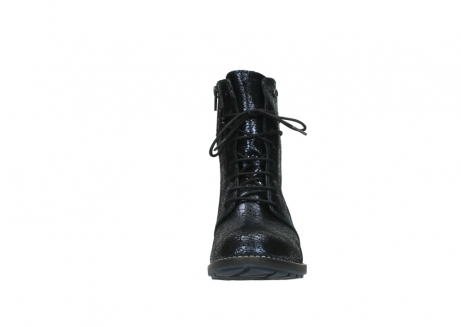 wolky mid calf boots 04432 murray 90800 dark blue craquele leather_19
