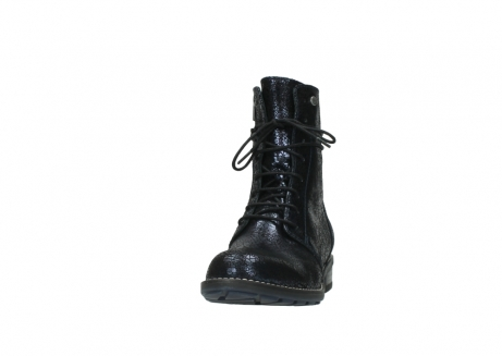 wolky mid calf boots 04432 murray 90800 dark blue craquele leather_20