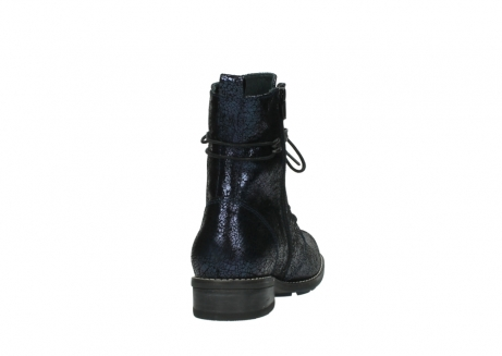 wolky mid calf boots 04432 murray 90800 dark blue craquele leather_8