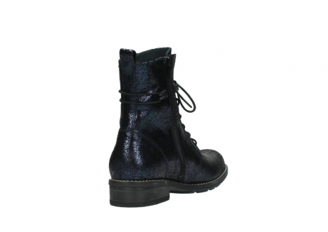 wolky mid calf boots 04432 murray 90800 dark blue craquele leather_9