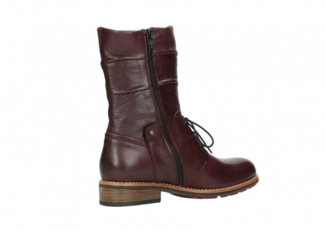wolky mid calf boots 04437 crystal 20510 burgundy leather_11