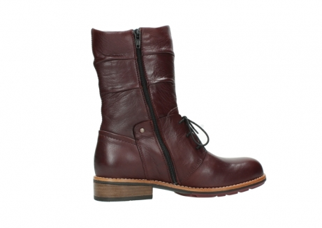 wolky mid calf boots 04437 crystal 20510 burgundy leather_12
