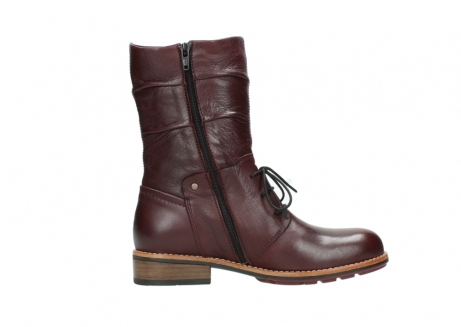 wolky mid calf boots 04437 crystal 20510 burgundy leather_13