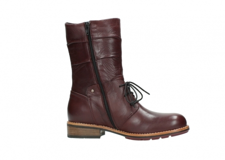 wolky mid calf boots 04437 crystal 20510 burgundy leather_14