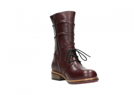 wolky mid calf boots 04437 crystal 20510 burgundy leather_17