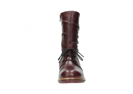 wolky mid calf boots 04437 crystal 20510 burgundy leather_19