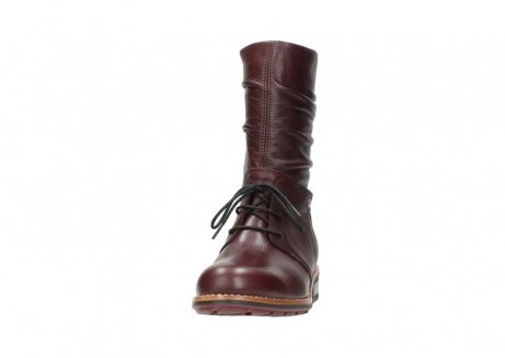 wolky mid calf boots 04437 crystal 20510 burgundy leather_20
