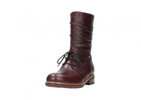 wolky mid calf boots 04437 crystal 20510 burgundy leather_21