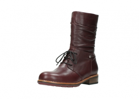 wolky mid calf boots 04437 crystal 20510 burgundy leather_22
