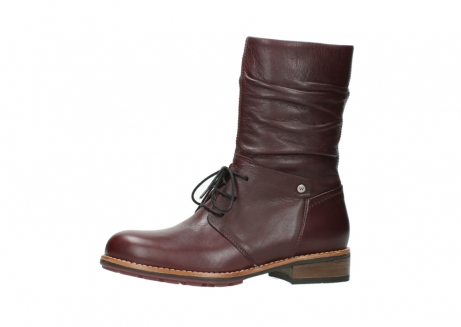 wolky mid calf boots 04437 crystal 20510 burgundy leather_24