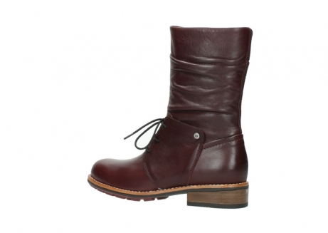 wolky mid calf boots 04437 crystal 20510 burgundy leather_3