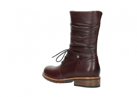 wolky mid calf boots 04437 crystal 20510 burgundy leather_4
