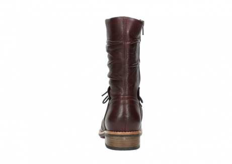wolky mid calf boots 04437 crystal 20510 burgundy leather_7