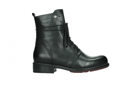 wolky mid calf boots 04438 murray cw 20000 black leather cold winter warm lining_1