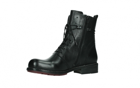 wolky mid calf boots 04438 murray cw 20000 black leather cold winter warm lining_11