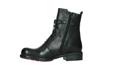 wolky mid calf boots 04438 murray cw 20000 black leather cold winter warm lining_12