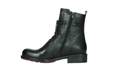 wolky mid calf boots 04438 murray cw 20000 black leather cold winter warm lining_13