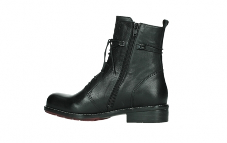 wolky mid calf boots 04438 murray cw 20000 black leather cold winter warm lining_14