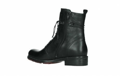 wolky mid calf boots 04438 murray cw 20000 black leather cold winter warm lining_15